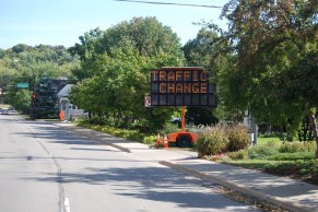 Warren-and-Cherry-streets-conversion-electronic-signage-traffic-change
